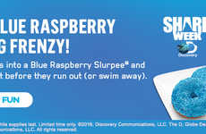 Blue Slushie-Flavored Donuts - The New Blue Raspberry Slurpee Donut is Inspired by an Iconic Drink