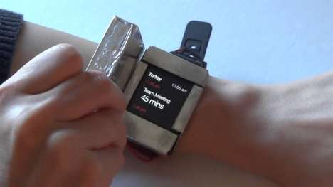 Multi-Screen Smartwatches - Doppio's Wearable Technology Improves Functionality with Two Screens