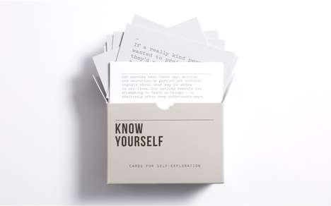 Self-Discovery Cards - These Prompt Cards from the School of Life Encourage Self-Exploration
