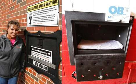 Safety-Focused Baby Boxes - The Safe Haven Baby Boxes are Designed to Keep Abandoned Newborns Safe