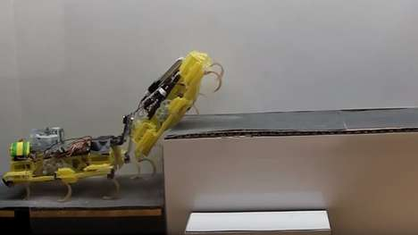 Cockroach-Inspired Robots - The VelociRoACH Robot is Capable Of Climbing Up Stairs