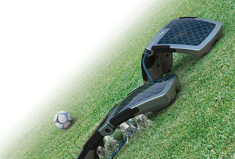 Solar-Powered Watering Robots - 'Naiad' is a Smart Watering System That Saves Water