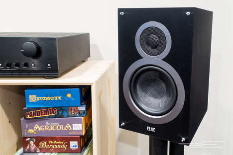 Booming Bookshelf Speakers - The ELAC Debut B6 Speakers Offer Balanced and Powerful Sound