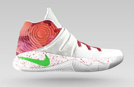 Donut-Inspired Sneakers - NIKEiD Lets Consumers Customize Their Shoes with a 'Ky-rispy Kreme' Print