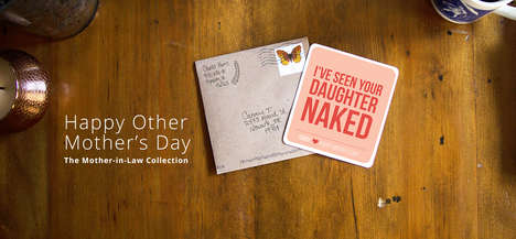 "Clever Mother-in-Law Cards - Humanaut Creates Funny Sentiments for ""Other Mother's Day"""
