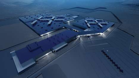 Desert Vehicle Factories - The Faraday Future Factory will Produces EVs in North Las Vegas, Nevada