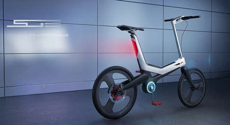 Data-Analyzing Bikes - This Smart Bike Detects Every Physical Aspect of Your Ride