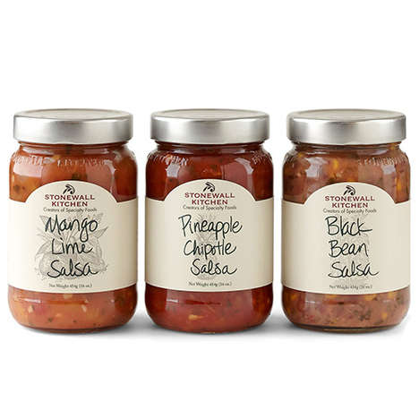 Summer Salsa Packs - Stonewall Kitchen's Salsa Trio Consists of Tasty Dip Flavors