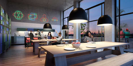 Expanding Sophisticated Dorms - The Macro Sea Dorms Treats Students as Adults with Stylish Living