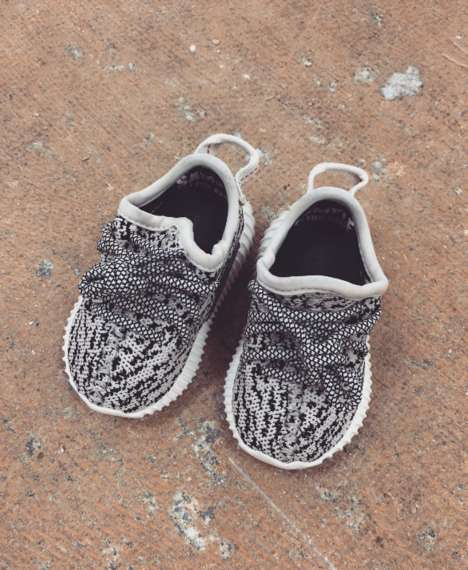 Rapper-Made Baby Shoes - Yeezy Baby Shoes are Going to Be Made Available to the Public
