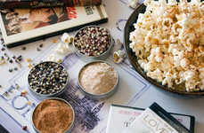 Gourmet Popcorn Garnishes - Etsy's Dell Cove Spices Shop Offers Premium Popcorn Seasoning Kits
