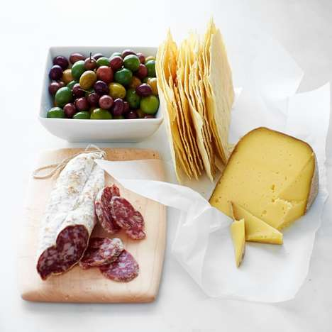 Prepacked Antipesti Platters - Williams-Sonoma Offers Cheese and Charcuterie Board Essentials