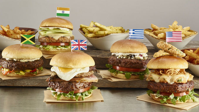 International Burger Menus