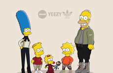 Sneakerhead Cartoon Families
