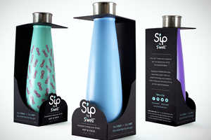 The S'ip by S'well Bottle Branding Lets the Product Speak for Itself