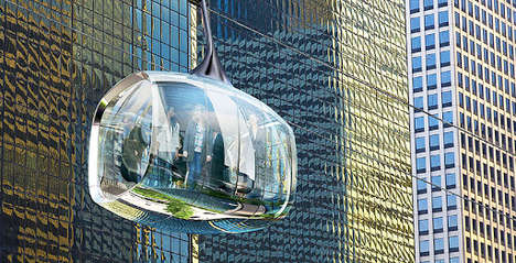 Eco Flying Cable Cars - Chicago Will Run Flying Cable Cars to Show Tourist Attractions