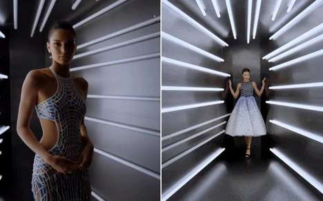 Futuristic Photo Booths - This Year's Met Gala Attendees Walk Away with Video Portraits