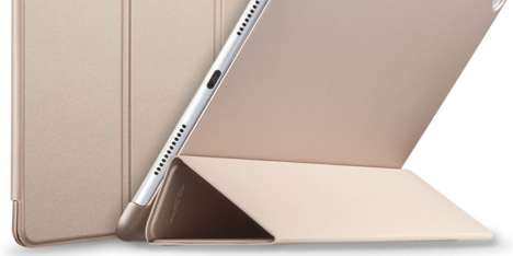 Smart Tablet Covers - The iPad Smart Cover Amplifies the Tablet's Main Functions