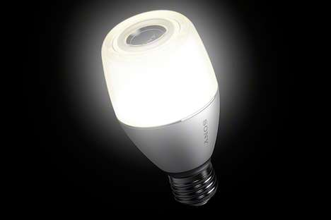 Speaker Light Bulbs - Sony is Releasing a Light Bulb That Also Functions as a Speaker