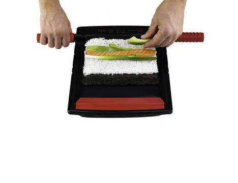 Streamlined Sushi-Rolling Systems - The Yomo Sushi Maker Allows Amateur Chefs to Perfect their Maki