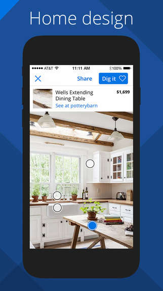 Crowdsourced Home Improvement Platforms - The Zillow Digs App Features Real Home Renovation Projects