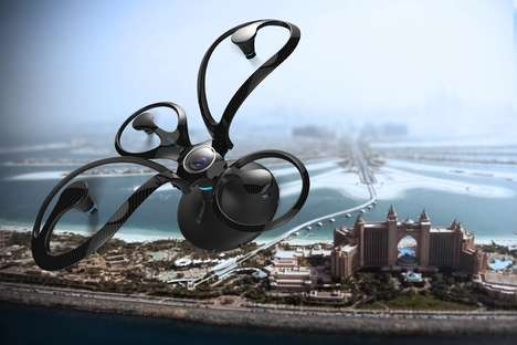 Obscurely Shaped Drones - The nepdesign 'Sphere' Flying Camera Drone Boasts an Organic Design