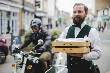 Cucumber Courier Campaigns - Hendrick's Courier Service Shares How to Enjoy a G&T with Cucumber
