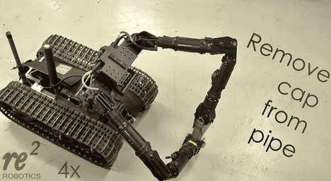 Bomb-Diffusing Robots - 'Resquared' Created an Incredibly Precise Army Robot for Delicate Tasks