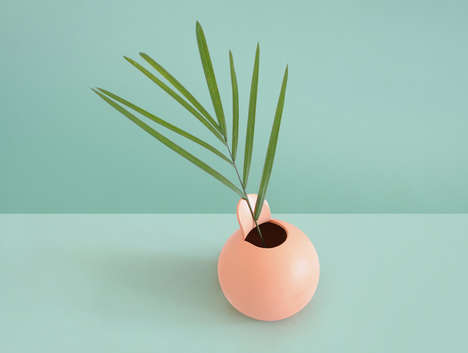 Simplistic Modern Vases - Studio & Friends Create a Modern Vase Collection Inspired by Peeled Fruit