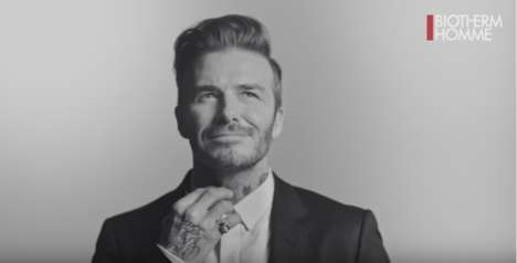 Soccer Star Skincare Lines - This New Skincare Line for Men is Being Designed by David Beckham