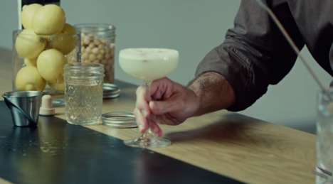 Vegan Chickpea Cocktails - This Egg-Free Pisco Sour is Made Using Bean Water Foam