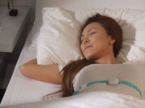 Sleep-Inducing Gadgets - The '2breathe' is a Chest Strap That Helps Soothe Wearers to Slumber