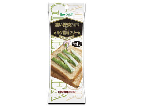 Creamy Tea Condiments - This Japanese Sado-Themed Toast Spread Combines Matcha Green Tea and Cream