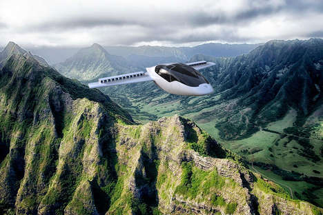 Personal Vertical Jets - The Conceptual VTOL Aircraft by Lilium Aviation are Designed for Commuting