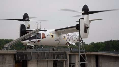 Multipurpose Tiltrotor Aircraft - The AgustaWestland AW609 is Designed For Targeted Civil Aviation