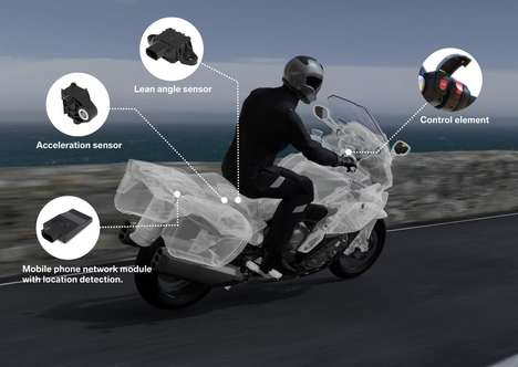 Lifesaving Motorbike Systems - The Intelligent Emergency Call System Alerts Emergency Services