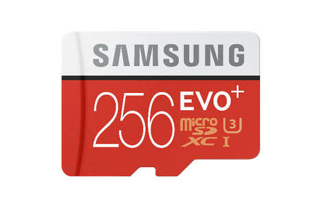 Drone Photography Storage Cards - The Samsung EVO Plus 256GB MicroSD Card is for Serious Storage