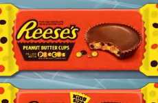 Meta Peanut Butter Cups - The New Reese's Peanut Butter Cups are Filled with Reese's Pieces