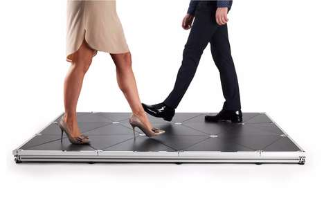 Energy-Producing Tiles - These New Floor Tiles from Pavegen Convert Kinetic Energy to Electricity