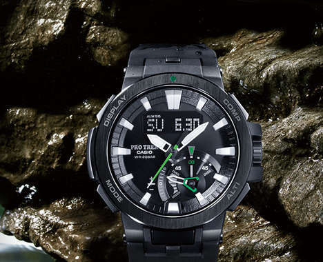 Environment-Analyzing Adventure Watches