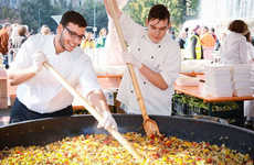 Food Waste-Themed Festivals - The 'Feeding the 5000' Festival Featured Dishes Made from Food Waste
