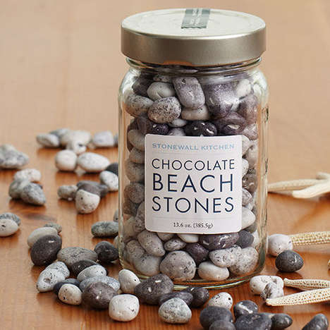 Chocolate Candy Pebbles - These Chocolate Beach Stones are an Artisanal Favorite