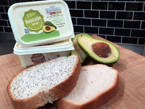 Packaged Avocado Spreads - Tesco Takes Advantage of Avacodo Spread Popularity by Packaging It