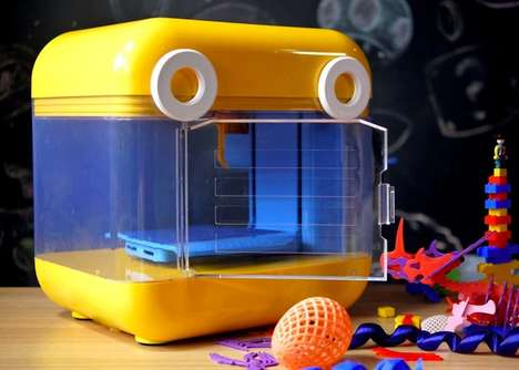 Juvenile Education 3D Printers - The 'MiniToy' 3D Printer System Enables Kids to Learn STEAM