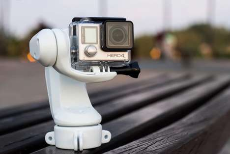 Professional Action Cam Mounts - The 'Sybrillo' Waterproof GoPro Stabilizer is Smartphone-Connected
