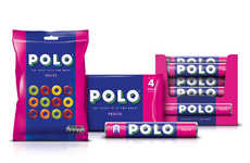 Color Blocking Candy Packaging - The New POLO Mint Packaging Updates the Brand for Younger Consumers
