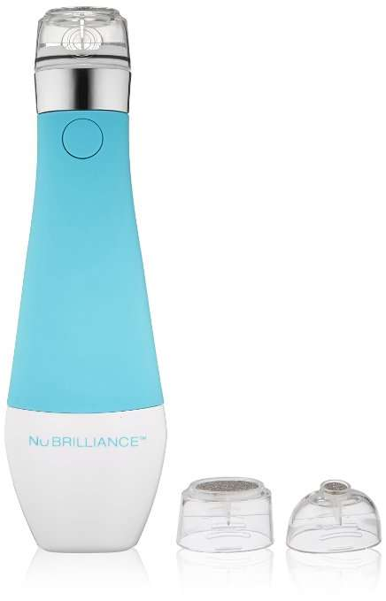 Skin-Revitalizing Handheld Devices - The NuBrilliance Device Simplifies At-Home Microdermabrasion