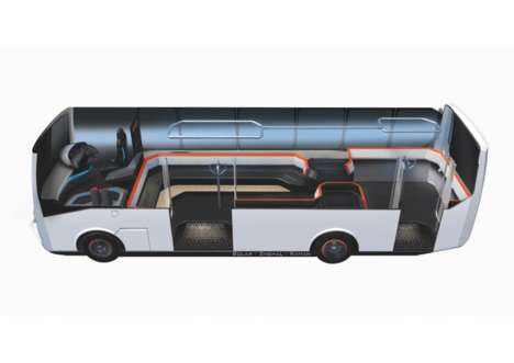 3D-Printed Electric Buses - The SMART City Initiative Improves Commuting With Smart Transportation