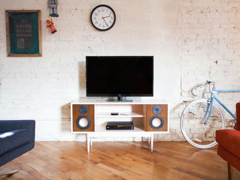 Modernized Retro Stereos - This Vintage-Inspired Stereo Has All the Features of a Modern One