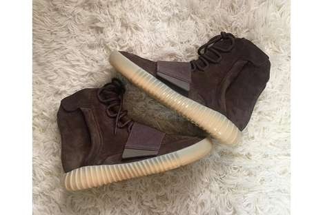 Exclusive Velour Sneaker Makeovers - The Newest Kanye West Yeezy Boost 750s are Soon to Be Released